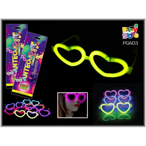 ANTEOJO CORAZON PARTY GLOW