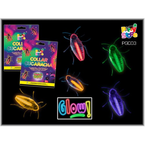 COLLAR CUCARACHA PARTY GLOW