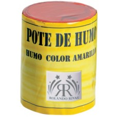 POTES DE HUMO COLOR AMARILLO