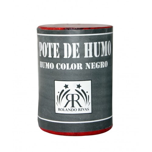 POTES DE HUMO COLOR NEGRO