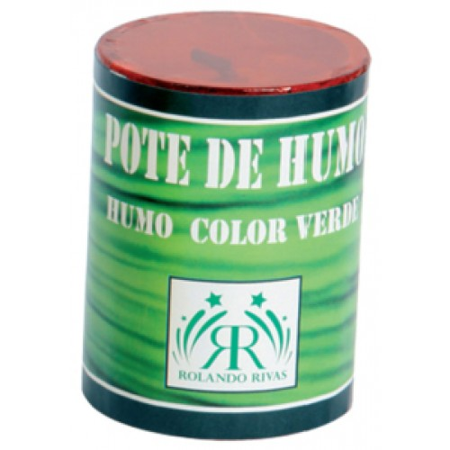 POTES DE HUMO COLOR VERDE